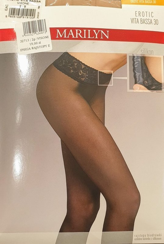 RAJSTOPY Erotic Vita Bassa 30 DEN