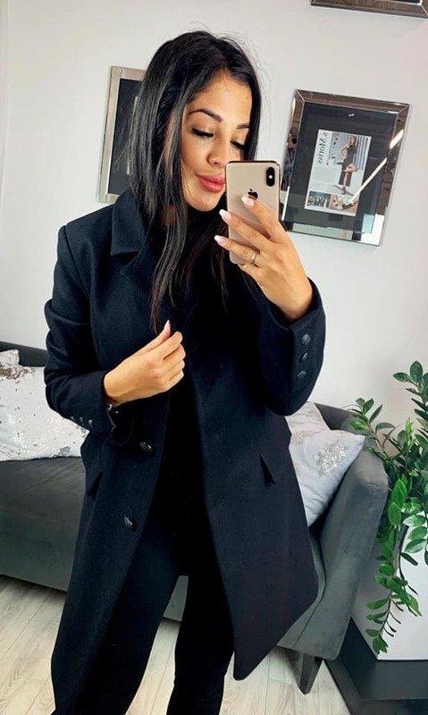 Płaszcz Carmen-czarny