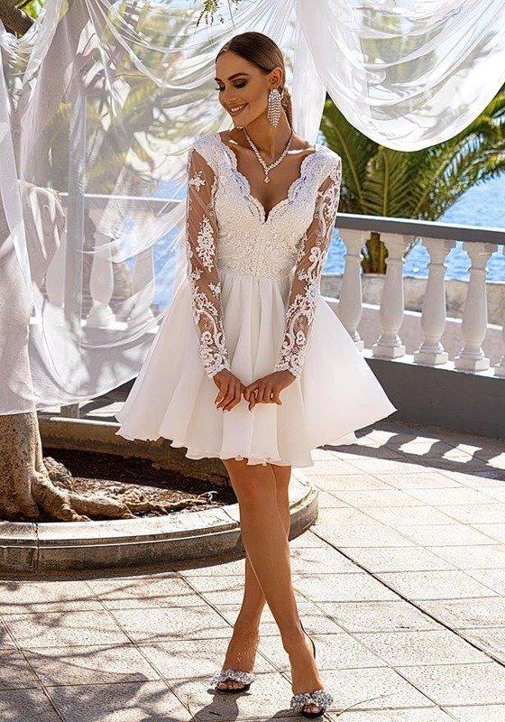 Sukienka Karla- biały