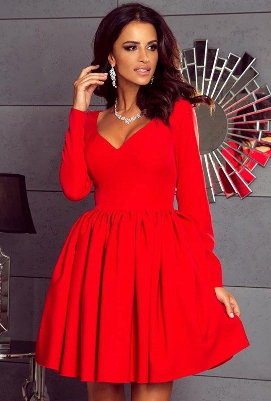 Sukienka Sara-czerwony